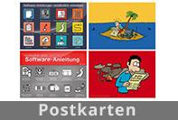 Postkarten von Dietrich Juhl