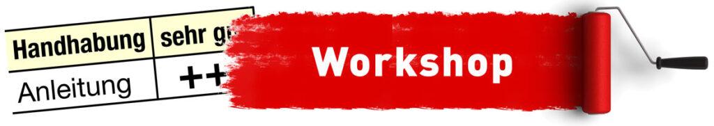 Workshop Erfolgreiche Software-Anleitung schreiben. Softwareanleitungen erstellen.